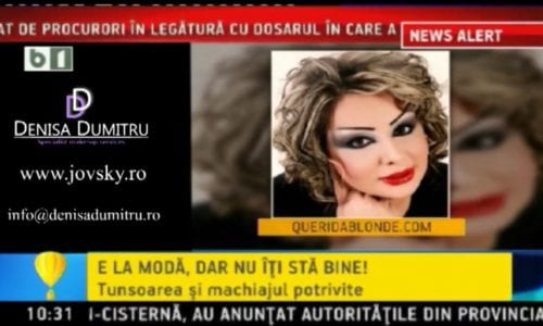 Denisa Dumitru si Adi Perjovschi despre tendinte in make-up si hair styling