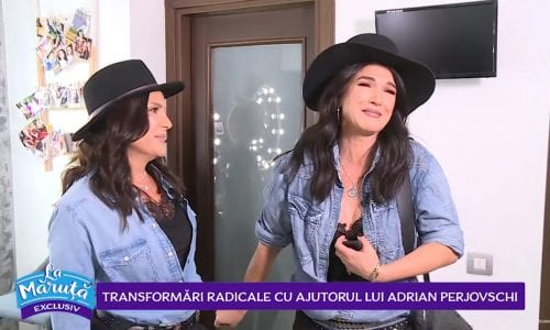 Maria se transforma in Monica Barladeanu