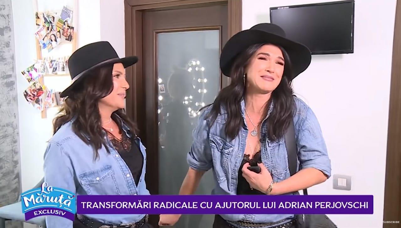 Maria se transforma in Monica Barladeanu